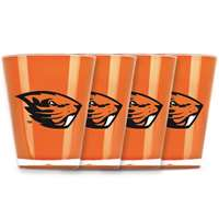 Oregon State Beavers Shot Glass - 4 Pack