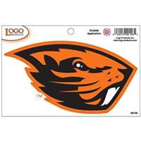 "Oregon State Beavers Mascot Logo Decal - 4.5"" x 2.75"""