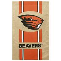 "Oregon State Beavers Burlap Flag - 28"" x 44"""