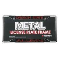 Oregon State Beavers Metal Alumni Inlaid Acrylic License Plate Frame