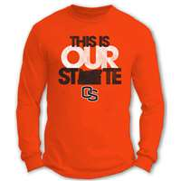 Oregon State Beavers Essential Long Sleeve Our State T-Shirt