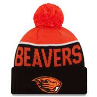 Oregon State Beavers New Era Sport Knit Pom Beanie