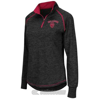 Oklahoma Sooners Women's Colosseum Bikram 1/4 Zip Jacket