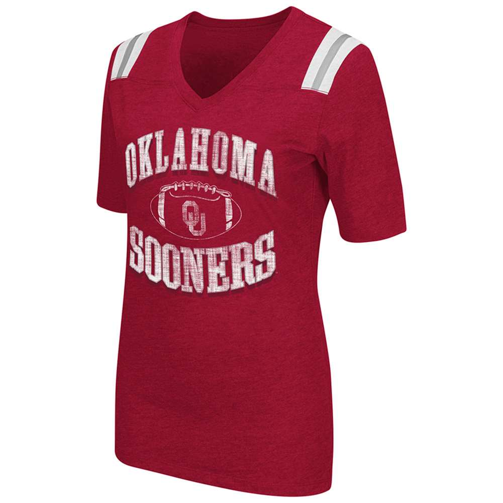 Oklahoma Sooners Women 39 S Artistic T Shirt