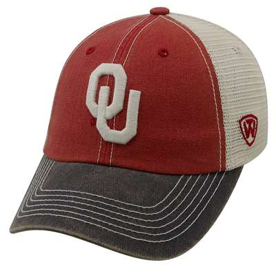 Oklahoma Sooners Top of the World Offroad Trucker Hat