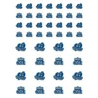 Old Dominion Monarchs Small Sticker Sheet - 2 Sheets