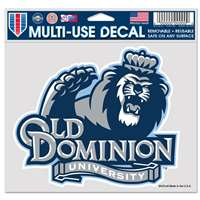 "Old Dominion Monarchs Ultra Decal 4.5"" x 6"""
