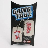Mississippi Dawg Tagz - Military Style Dog Tags