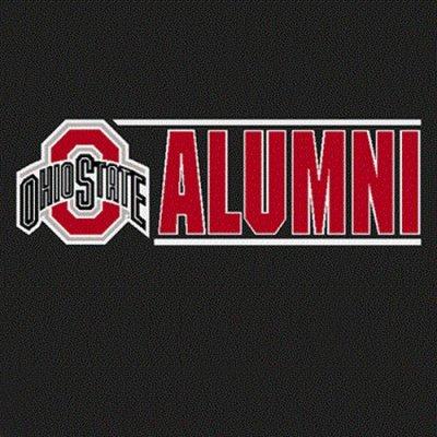 Ohio State Buckeyes Decal Logo W Alumni