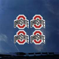 Ohio State Buckeyes Transfer Decals - Set of 4