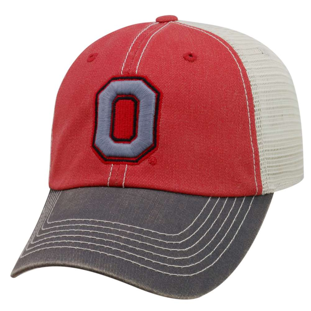 24d94c74a48 Ohio State Buckeyes Top of the World Offroad Trucker Hat