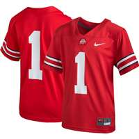 Nike Ohio State Buckeyes Youth Football Jersey - #1 Red