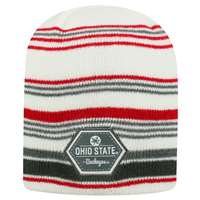 Ohio State Buckeyes Top of the World Channel Knit Beanie