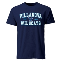 Villanova Wildcats Cotton Heritage T-Shirt - Navy