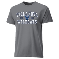 Villanova Wildcats Cotton Heritage T-Shirt - Grey
