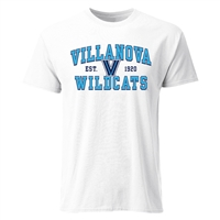 Villanova Wildcats Cotton Heritage T-Shirt - White