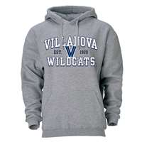 Villanova Wildcats Heritage Hoodie - Heather Grey