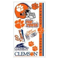 Clemson Temporary Tattoos