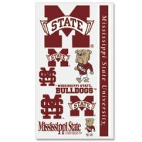 Mississippi State Temporary Tattoos