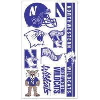 Northwestern Temporary Tattoos