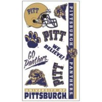 Pittsburgh Panthers Temporary Tattoos