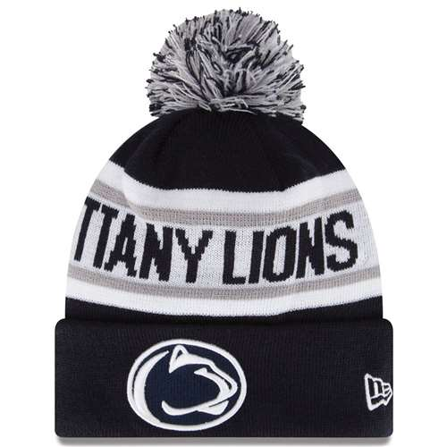 23ce650b1a714 ... cheap penn state nittany lions new era biggest fan knit beanie f974d  e9239