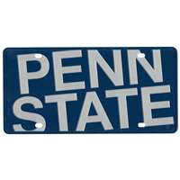 Penn State Nittany Lions Full Color Mega Inlay License Plate
