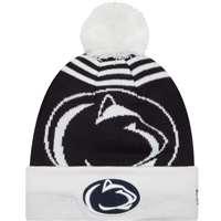 a5fb34aea49 ... Penn State Nittany Lions New Era Logo Whiz 2 Pom Knit Beanie ...