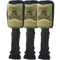 Pittsburgh Panthers Graphite Headcover Set Of 3