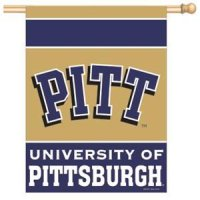 Pittsburgh Panthers Vertical Flag 27 X 37 Inches