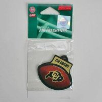 Colorado Buffaloes Plastic Air Freshener
