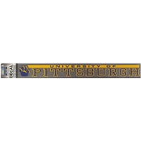 Pittsburgh Panthers Decal Strip - Mascot W/ University Of Pittsburgh Panthers