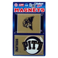 "Pittsburgh Panthers 2""x3"" Magnet 2 Pack"