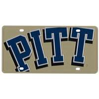 Pittsburgh Panthers Full Color Mega Inlay License Plate