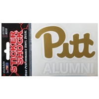 Pittsburgh Panthers Transfer Decal - Alumni