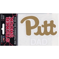 Pittsburgh Panthers Transfer Decal - Dad