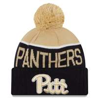 Pittsburgh Panthers New Era Sport Knit Pom Beanie