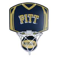 Pittsburgh Panthers Mini Basketball And Hoop Set