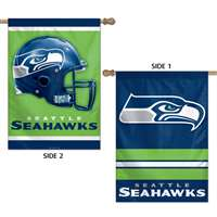 Seattle Seahawks Banner/Vertical Flag - 2 Sided