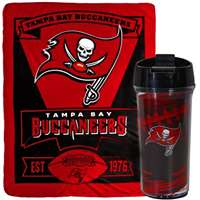 Tampa Bay Buccaneers Mug and Snug Blanket Giftset