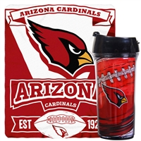 Arizona Cardinals Mug and Snug Blanket Giftset