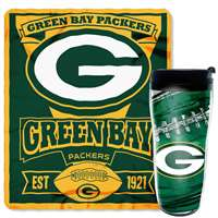 Green Bay Packers Mug and Snug Blanket Giftset