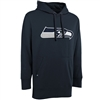Seattle Seahawks Antigua Signature Hoodie - Navy