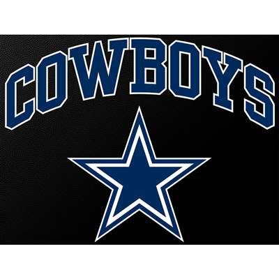 Dallas Cowboys Full Color Die Cut Transfer Decal 6 Quot X 6 Quot