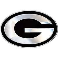 Greenbay Packets Chrome Auto Emblem