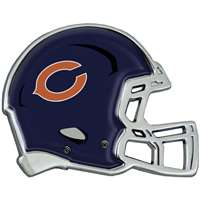 Chicago Bears Auto Emblem - Helmet