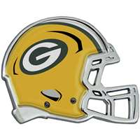 Green Bay Packers Auto Emblem - Helmet