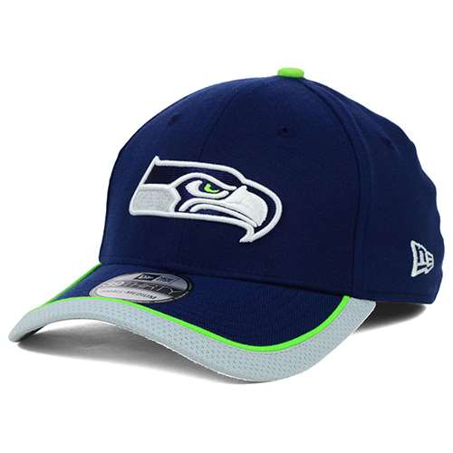 Seattle Seahawks New Era 39Thrity On Field Youth Toddler Hat 898975063dc
