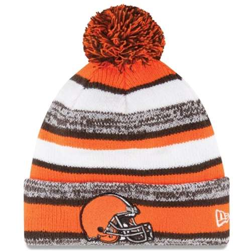 08f59bbc0df Cleveland Browns New Era On Field NFL Sport Knit Beanie