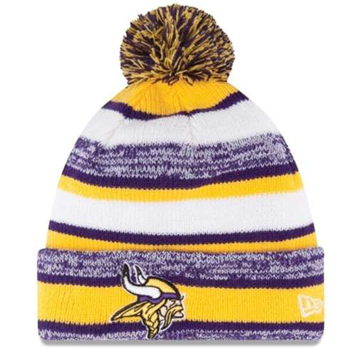 05ed07e1e Minnesota Vikings New Era On Field NFL Sport Knit Beanie